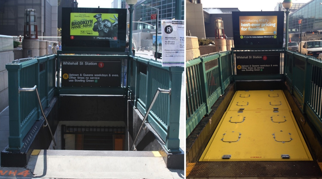 Subway Stairwell Covers Rsa Protective Technologies
