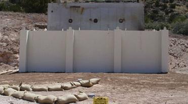 Adler Blast Wall