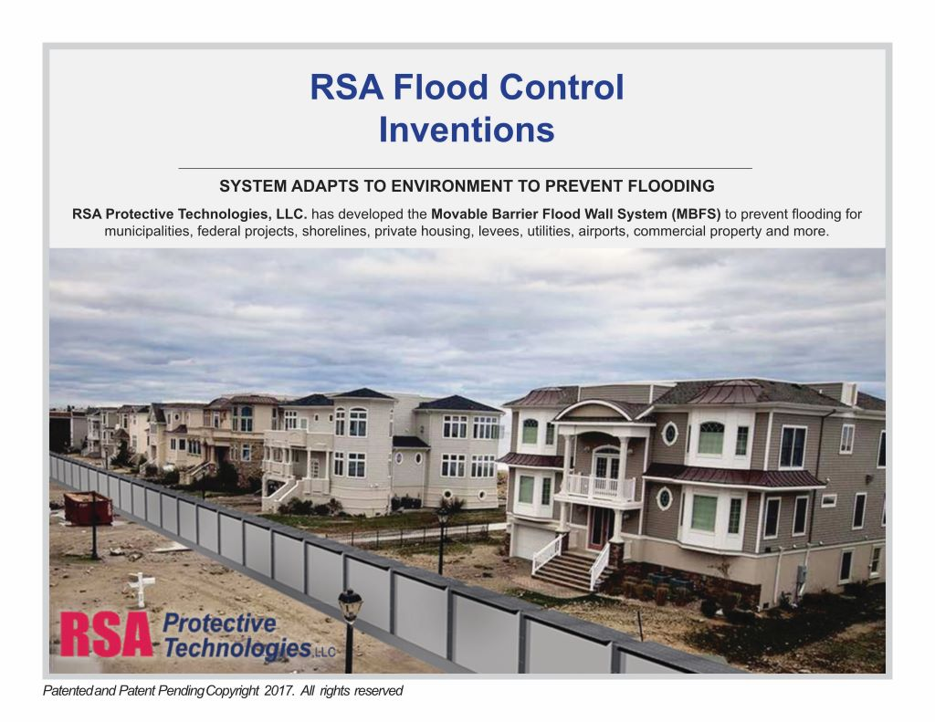 RSA Flood Control Invention